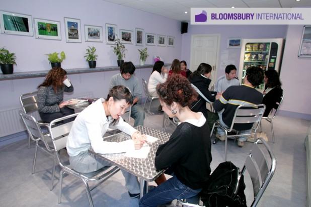 Bloomsbury cafe